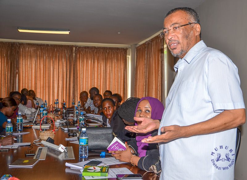 Muhuri trains CSOs on audit